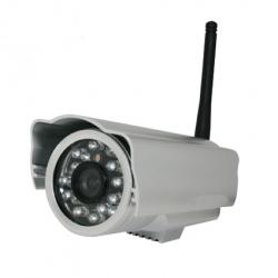 Utomhus (trådlös) övervakningskamera IR 15 meter.